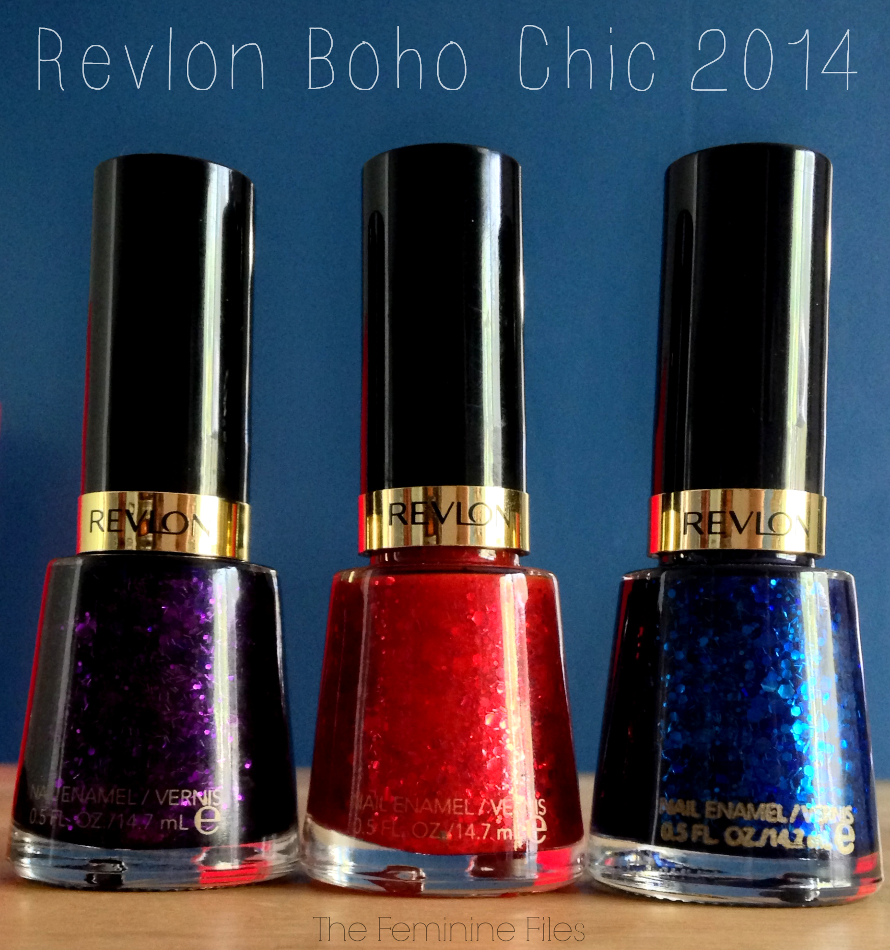 Revlon Nail Polishes: Revlon Boho Chic Nail Polish Collection