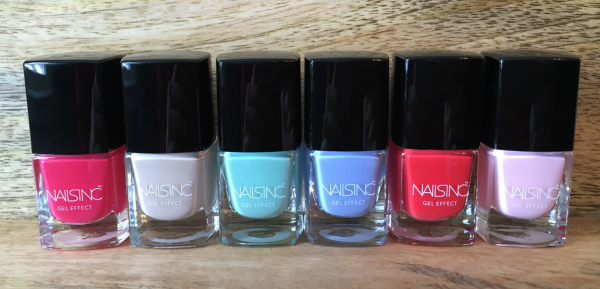 Nails Inc. Spring/Summer Gel Effect Collection