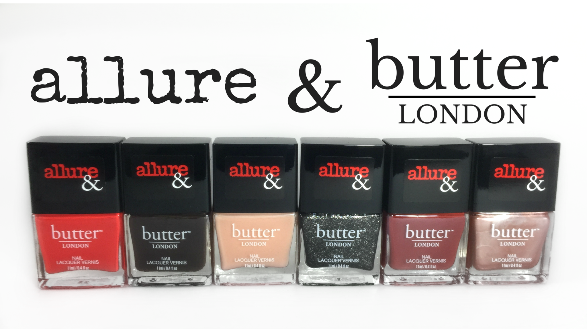 The Allure & Butter London Arm Candy Collection | Review & Giveaway! - The Feminine Files
