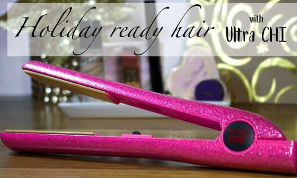 Get Holiday Ready Hair with the Ultra CHI Flat Iron! (Tutorial)