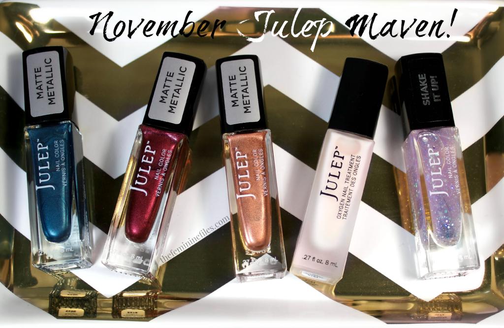 November 2015 Julep Maven Box | Matte Metallic Heaven!