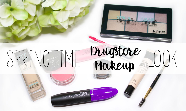 Springtime Drugstore Makeup Look