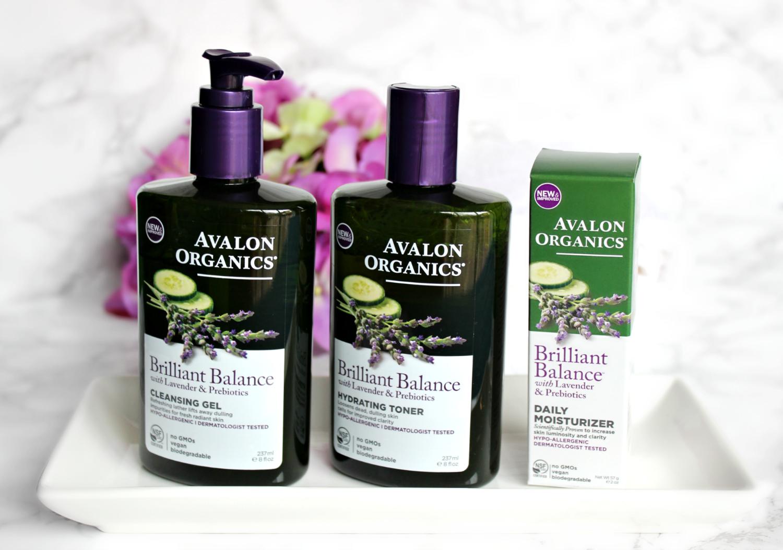 Avalon Organics Brilliant Balance Skin Care Line The Feminine Files