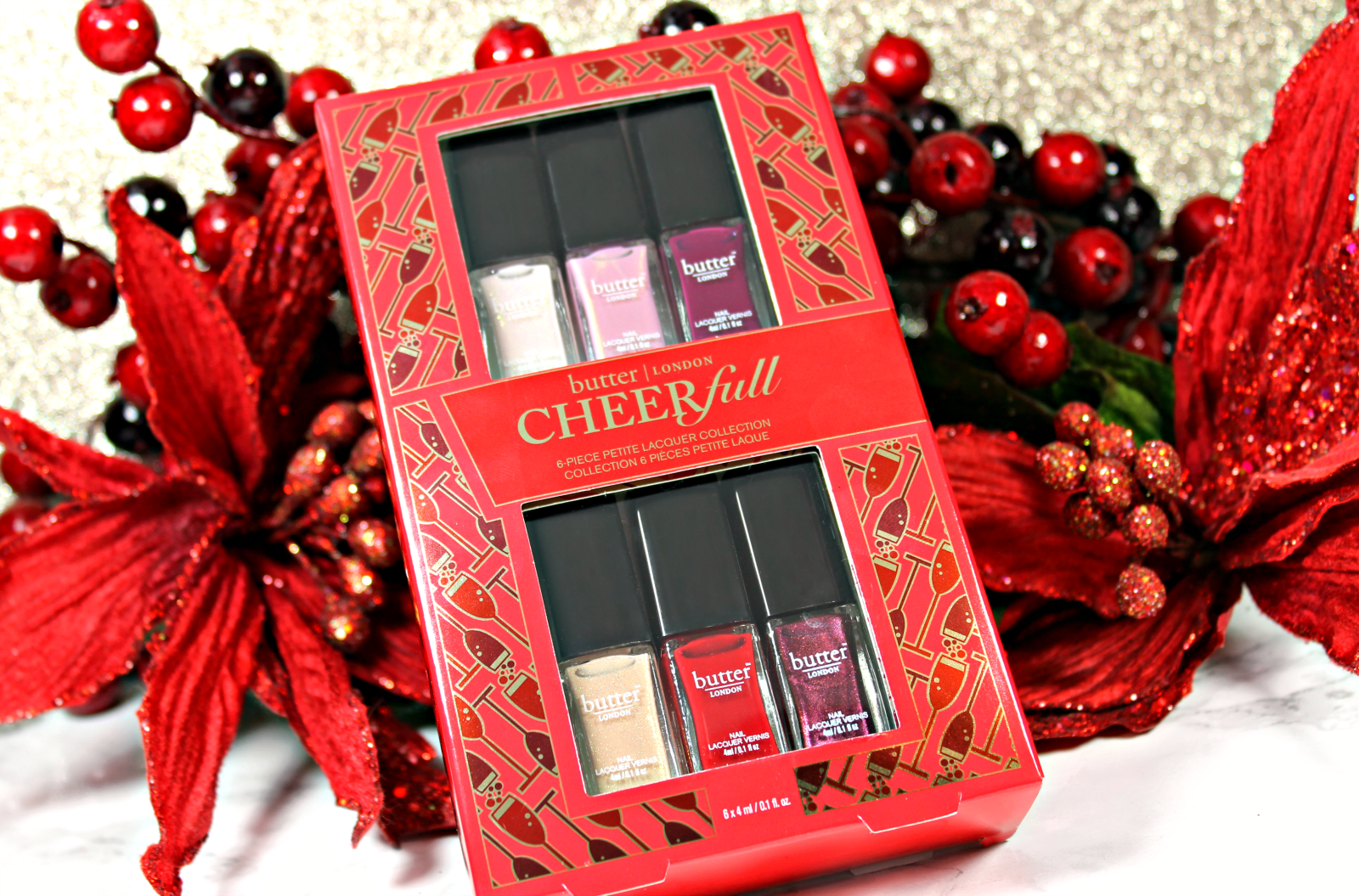 Butter London CheerFull Petite Lacquer Collection - The Feminine Files