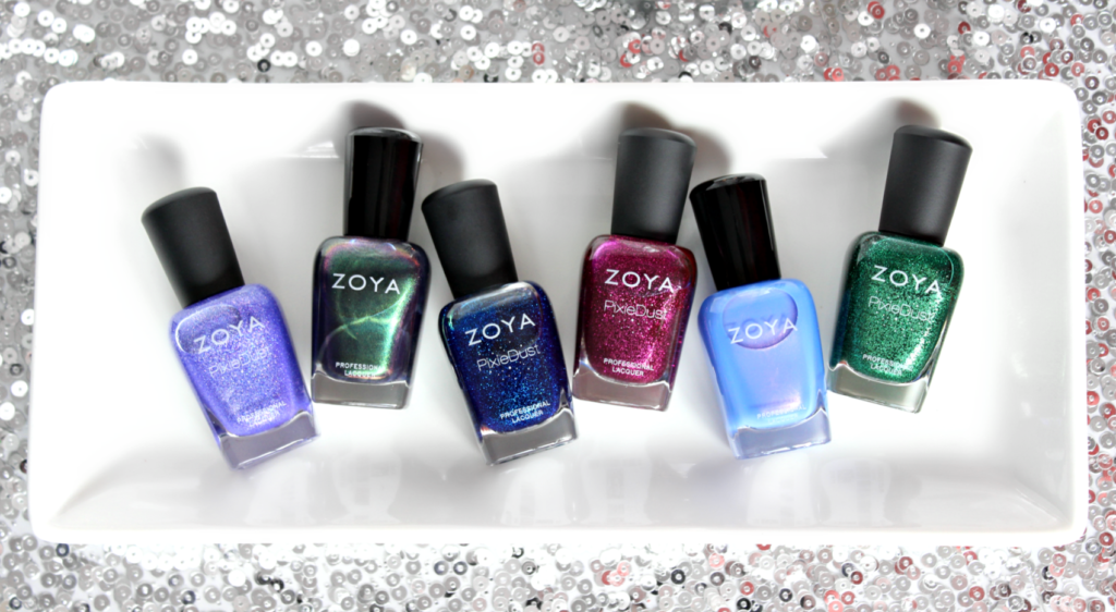 Zoya Enchanted Collection Holiday 2016 The Feminine Files
