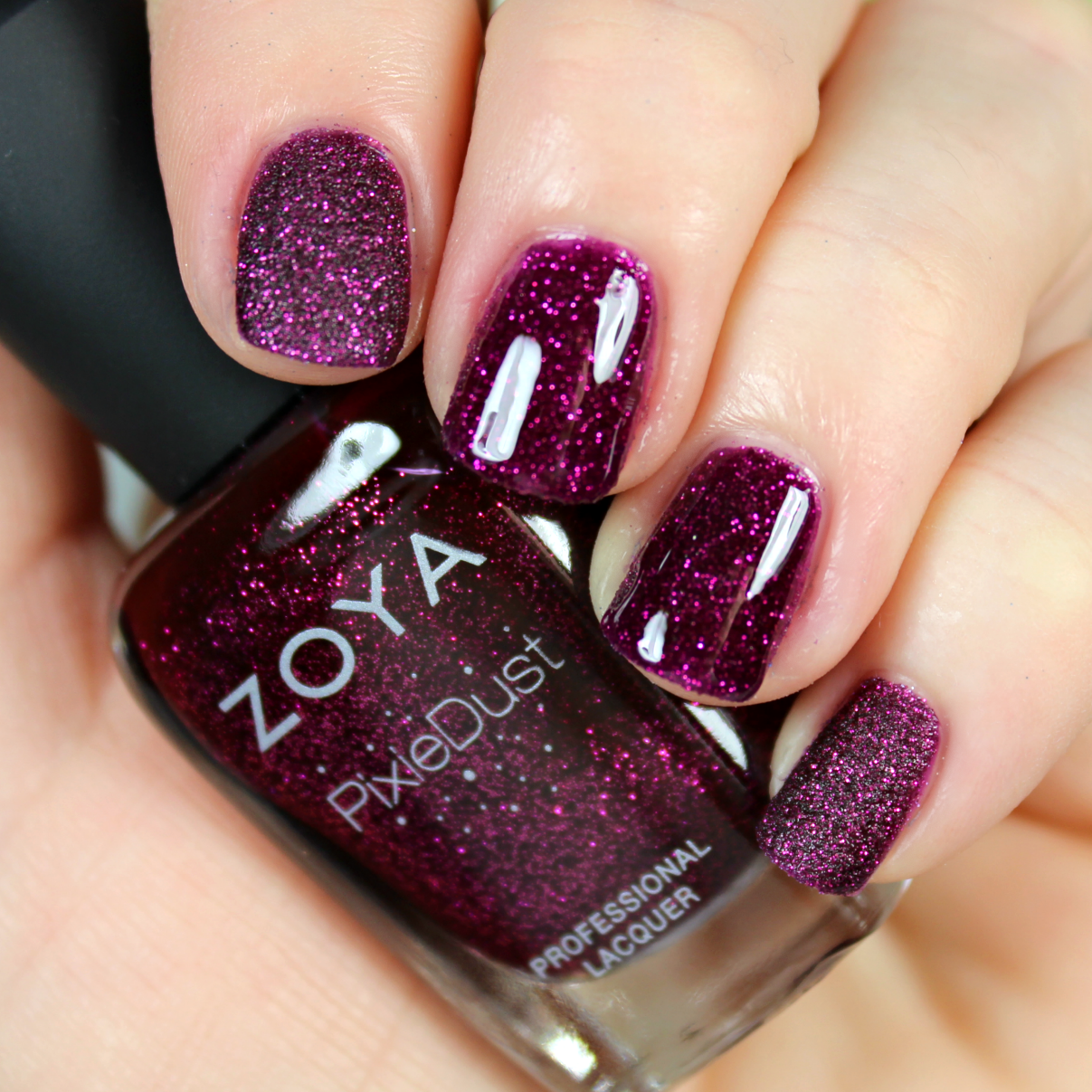 Zoya enchanted collection holiday 2016 the feminine files lorna is a luscious cranberry with a magenta sparkle surprisingly this is another favorite of mine reheart Choice Image