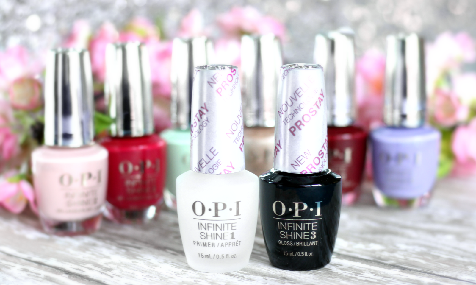 New OPI Infinite Shine Pro Stay Primer + Gloss