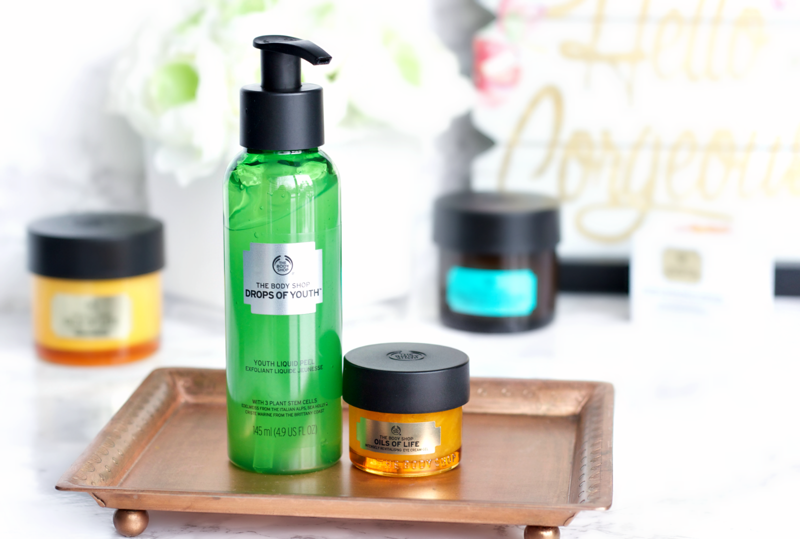 Turn Back Time With New Skincare From The Body Shop The Feminine Files