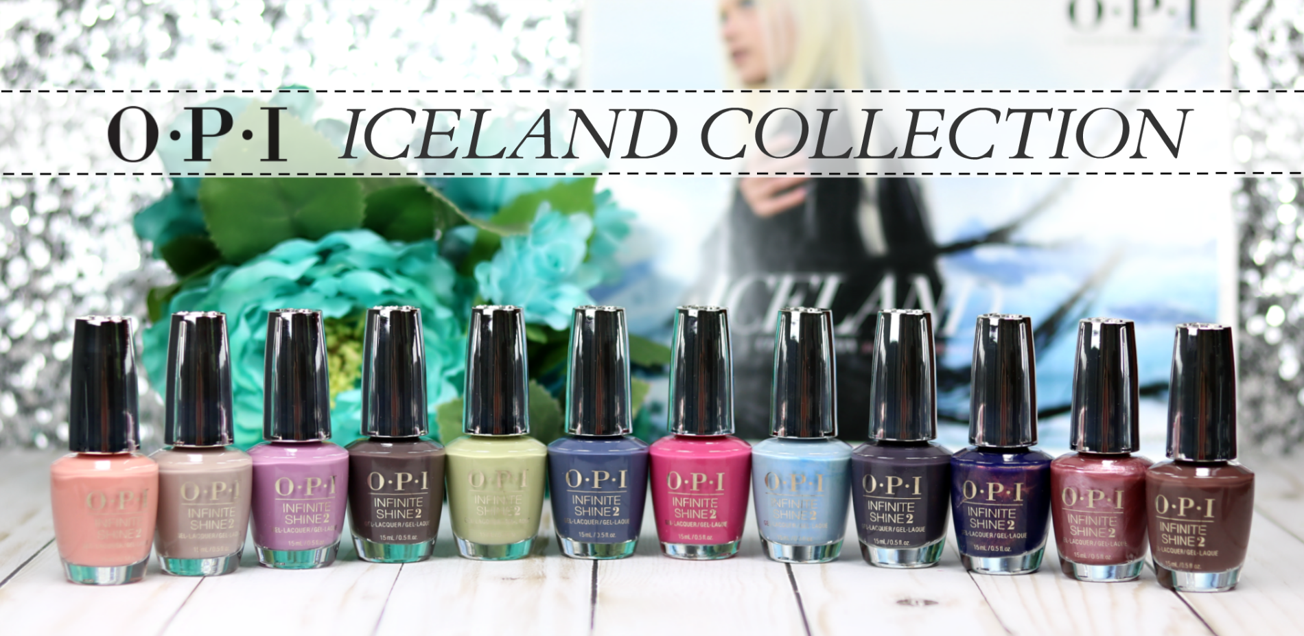 OPI Iceland Collection Review
