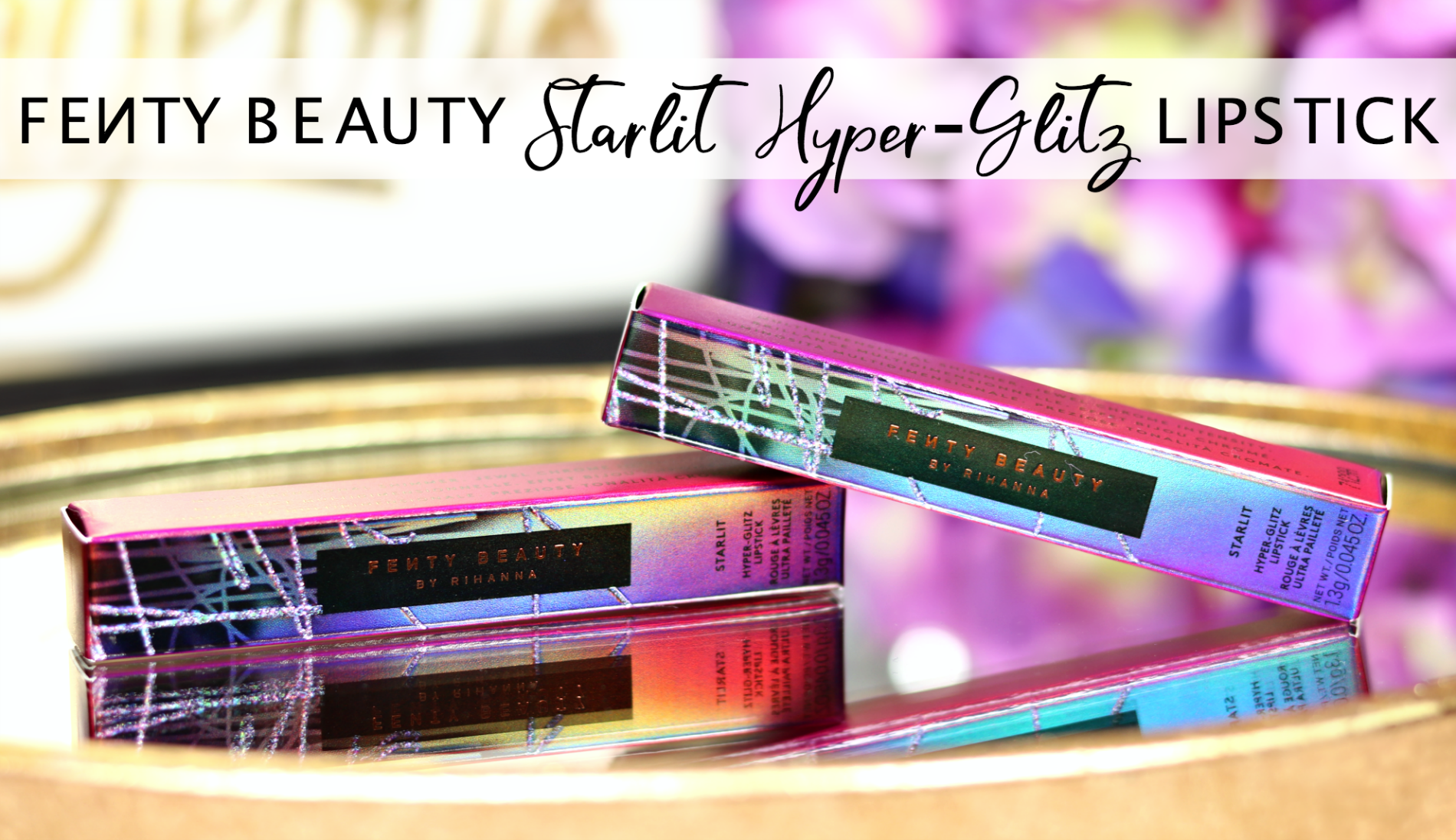 Fenty Beauty Starlit Hyper Glitz Lipstick