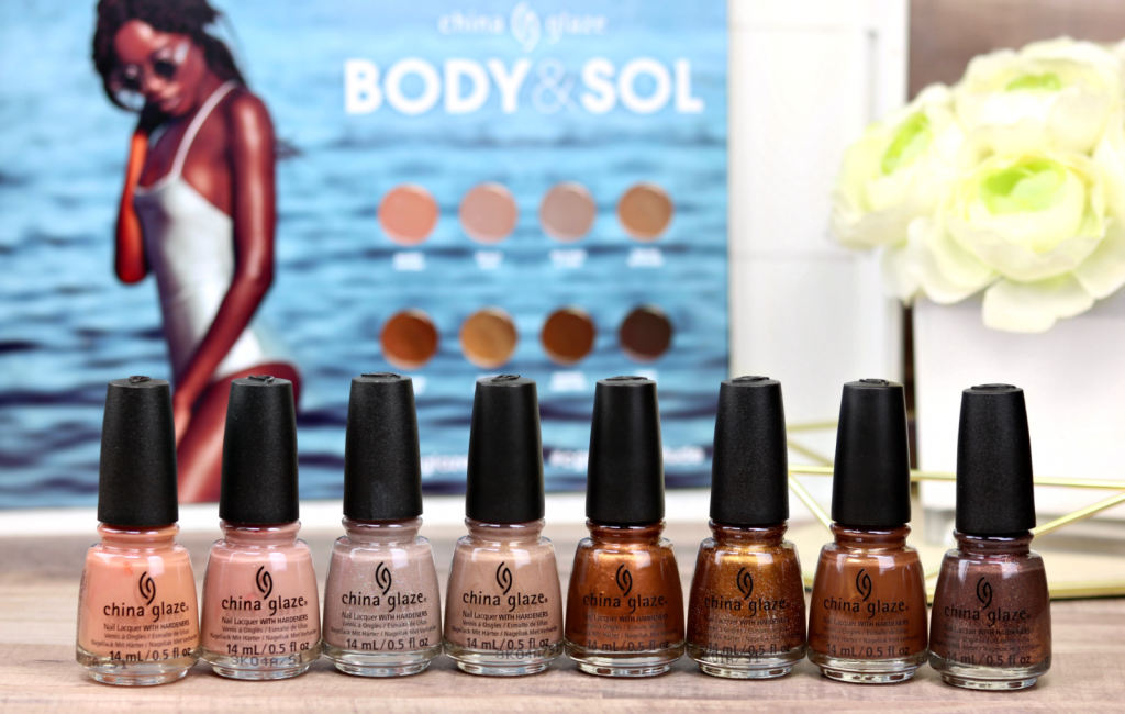 China Glaze Body Amp Sol Collection The Feminine Files